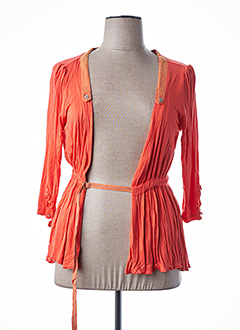 Veste casual orange EPICEA pour femme