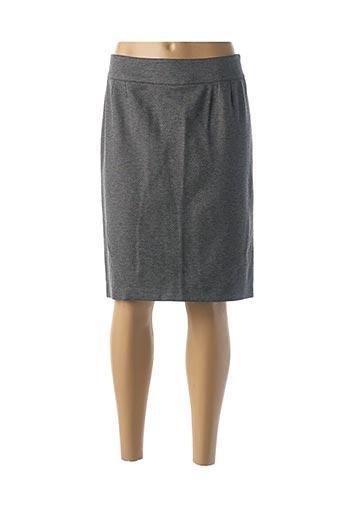 Jupe mi-longue gris GEVANA pour femme