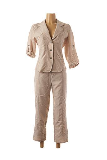 Veste/pantalon beige CINOCHE pour femme
