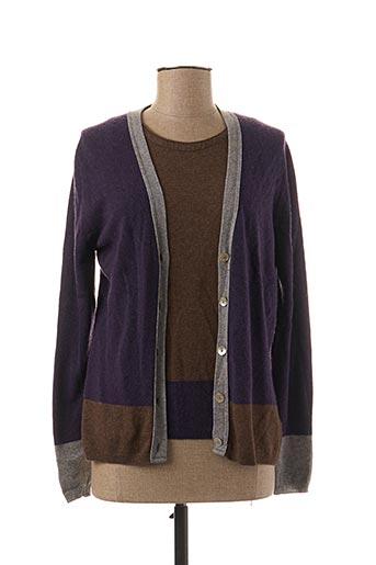 Twin-set violet FINETTE pour femme