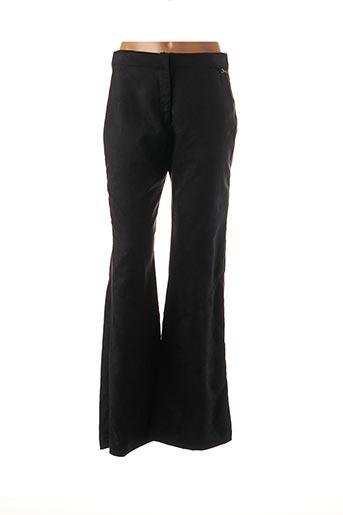 Pantalon casual noir COCO MENTHE pour femme