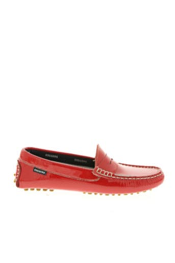 Chaussures bâteau rouge DIGGERS pour femme