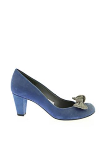 Escarpins bleu ENRIC NAVARRO pour femme