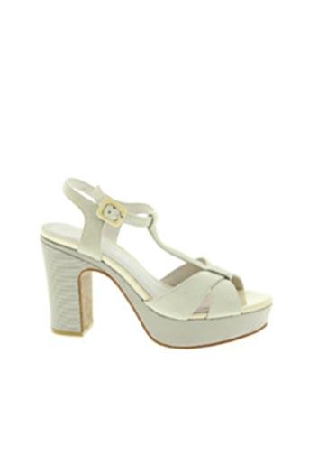Sandales/Nu pieds gris CAFE NOIR pour femme
