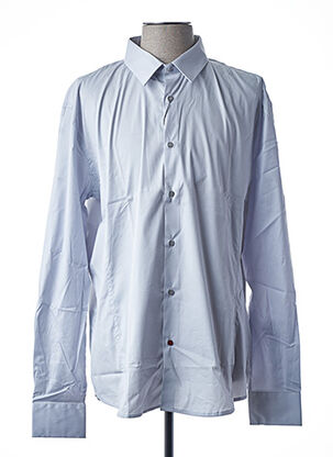 Chemise manches longues gris LA CIBLE ROUGE pour homme