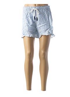 Short bleu TEDDY SMITH pour femme