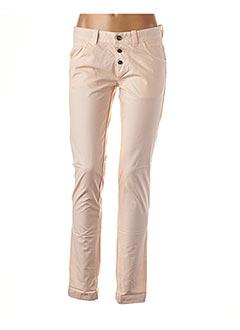 Pantalon casual rose KAPORAL pour femme