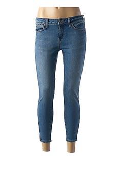 Pantalon 7/8 bleu LEE pour femme