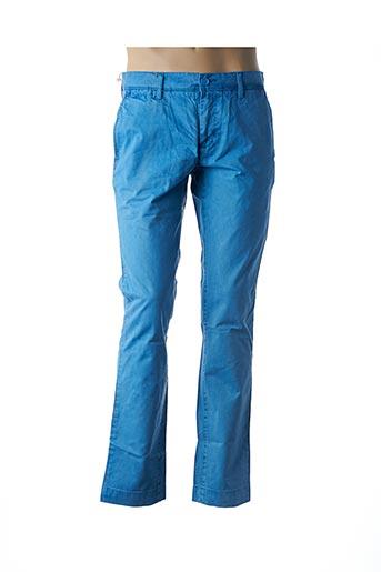 Pantalon casual bleu TEDDY SMITH pour homme