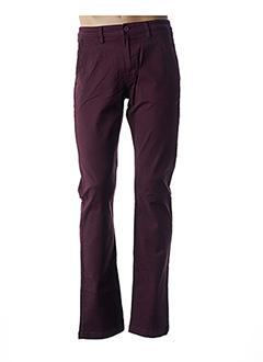 Pantalon casual rouge LEE pour homme