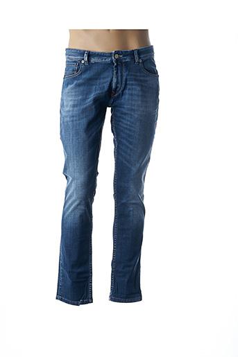 Jeans coupe slim bleu IDENIM pour homme