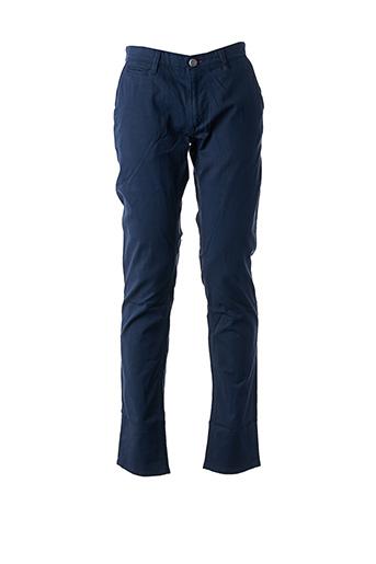Pantalon casual bleu LA CIBLE ROUGE pour homme