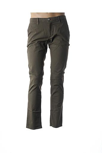 Pantalon casual vert LA CIBLE ROUGE pour homme