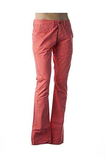 Pantalon casual orange KAPORAL pour homme
