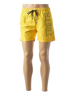 Short jaune TEDDY SMITH pour homme
