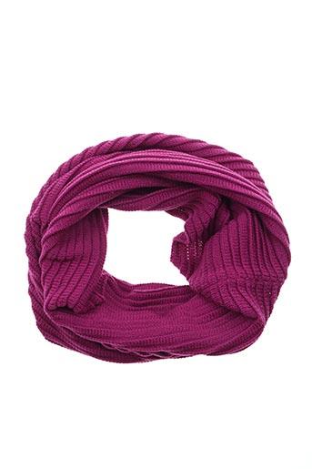 Col / Tour de cou rose CECIL pour femme