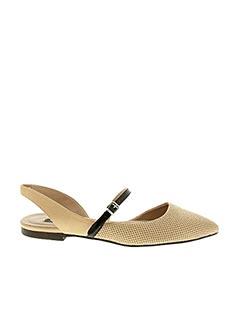 Sandales/Nu pieds beige JANET & JANET pour femme