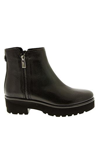 Bottines/Boots noir PAS DE ROUGE pour femme