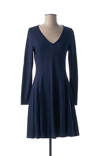 Robe mi-longue bleu COTTON BROTHERS pour femme