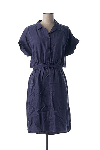 Robe mi-longue bleu EKYOG pour femme