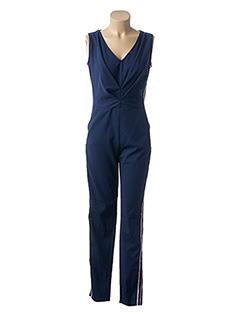 Combi-pantalon bleu FILLES A SUIVRE pour femme