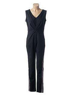 Combi-pantalon noir FILLES A SUIVRE pour femme