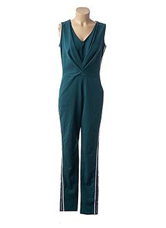 Combi-pantalon vert FILLES A SUIVRE pour femme