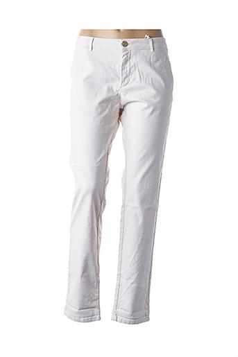Pantalon casual beige BÔ-M pour femme