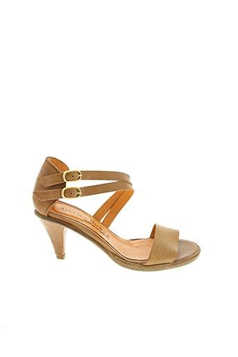 Sandales/Nu pieds marron ATELIER BOWER pour femme