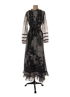 Robe longue noir FRACOMINA pour femme