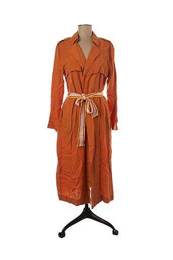 Imperméable/Trench orange MAISON ANJE pour femme