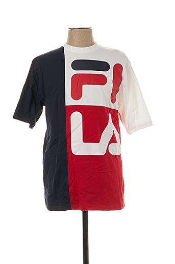 T-shirt manches courtes rouge FILA pour femme