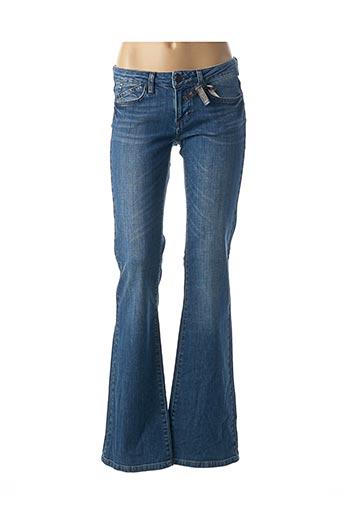 Jeans bootcut bleu CORLEONE pour femme