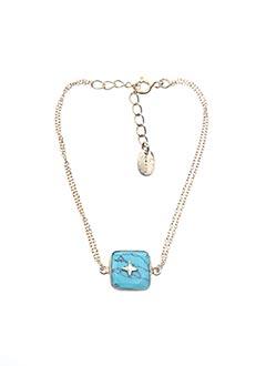 Bracelet bleu UNE À UNE pour femme