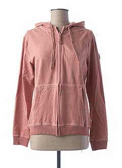 Veste casual rose FRENCH TERRY 1818 pour femme
