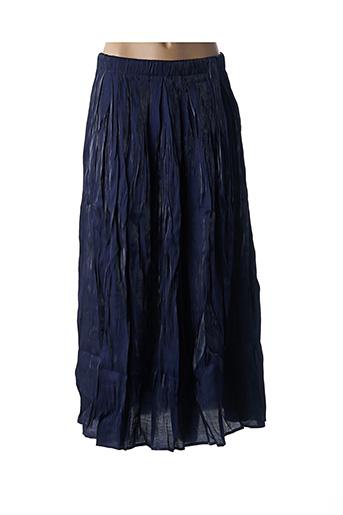 Jupe longue bleu FRNCH pour femme