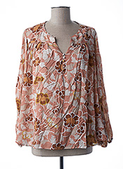 Blouse manches courtes rose MY SUNDAY MORNING pour femme seconde vue