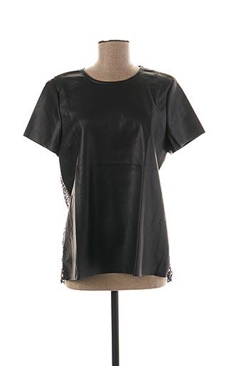 T-shirt manches courtes noir VERO MODA pour femme
