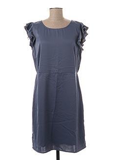 Robe mi-longue gris VILA pour femme