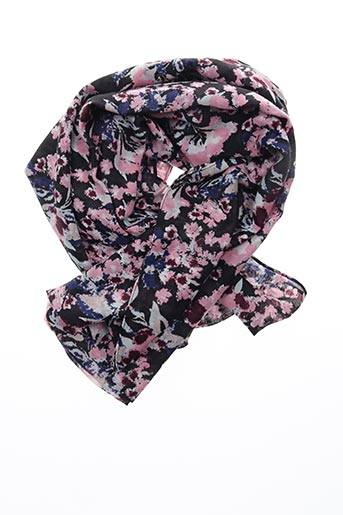 Col / Tour de cou rose PIECES pour femme