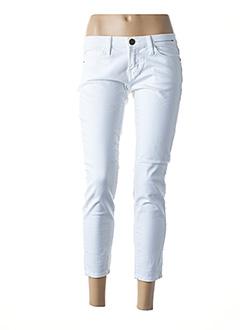 Pantalon 7/8 blanc CURRENTE/ELLIOTT pour femme