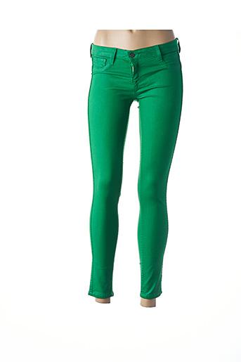 Legging vert BLEULAB pour femme