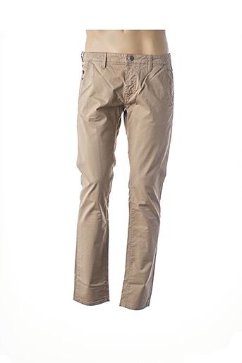 Pantalon casual beige GAS pour homme