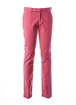 Pantalon chic rouge HACKETT pour homme
