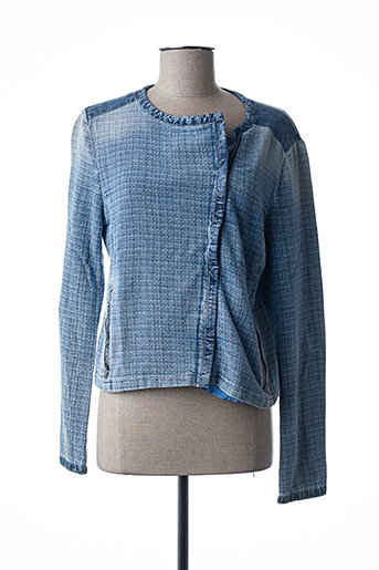 Veste casual bleu GAS pour femme