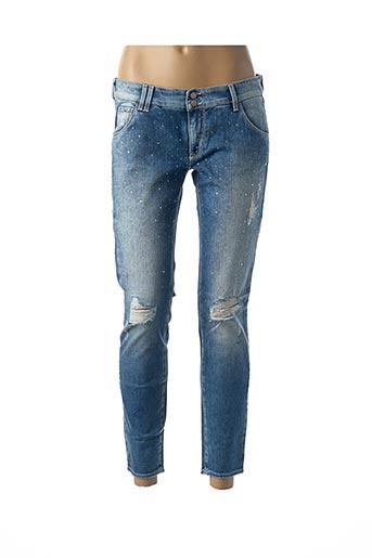 Pantalon 7/8 bleu GAS pour femme