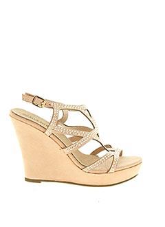 Sandales/Nu pieds rose ELUE PAR NOUS pour femme