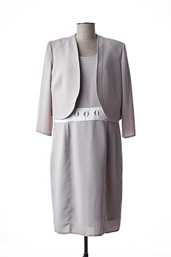 Veste/robe beige ANNE KELLY pour femme