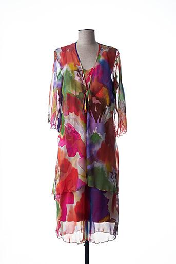 Veste/robe rouge JEAN DELFIN pour femme