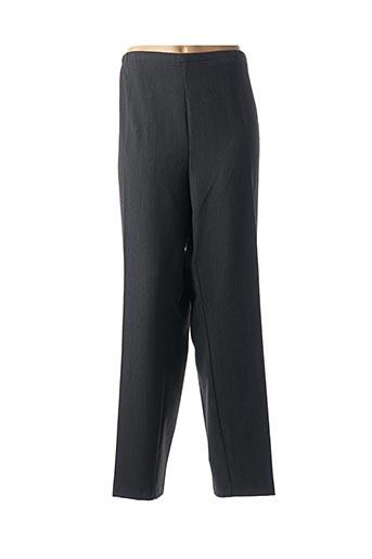 Pantalon chic gris CHRIS & MAX pour femme